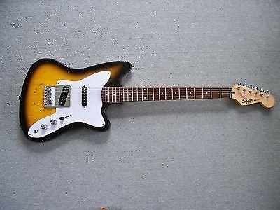 Modified Vintage 1966 Harmony Bobkat Fender Squier Bullet Strat Neck Tele Bridge