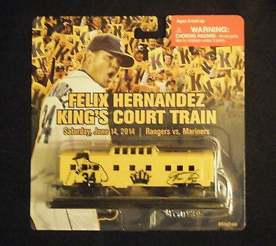 Seattle Mariners 2014 Felix Hernandez Train Car