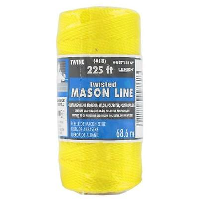 Neon Yellow Nylon Seine Twine, 225' The Lehigh Group Twine NST1814YHD