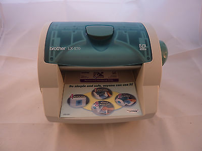 Brother LX-570 Multi-Finisher Laminator with Partial Roll Works!