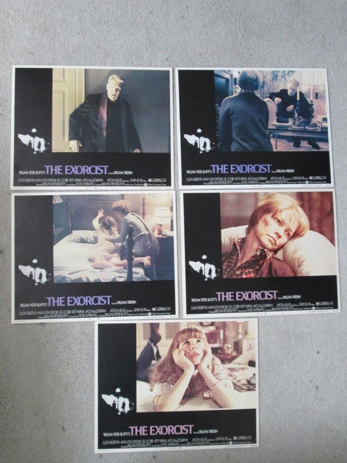 The Exorcist   - Original  1964  Lobby Cards  - Friedkin - Linda Blair