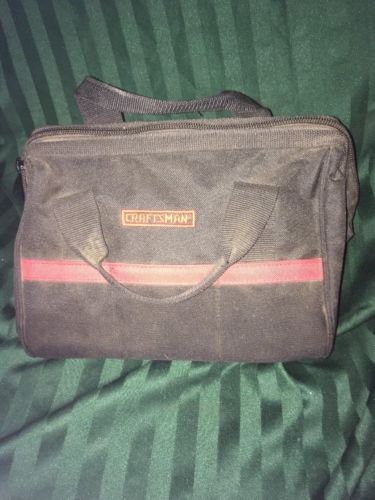 CRAFTSMAN TOOL BAG POWER TOOL TOTE CASE W/BIG MOUTH WIDE OPENING