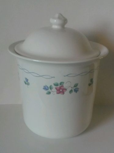 PFALTZGRAFF BONNIE BRAE LARGE COOKIE JAR CANISTER