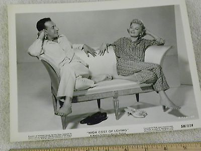 Jason Robards-Gina Rowland Movie Photo....8 x 10...High Cost of Loving..1958