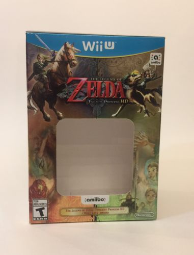 The Legend of Zelda Twilight Princess HD Wii U :BOX ONLY WITHOUT GAME