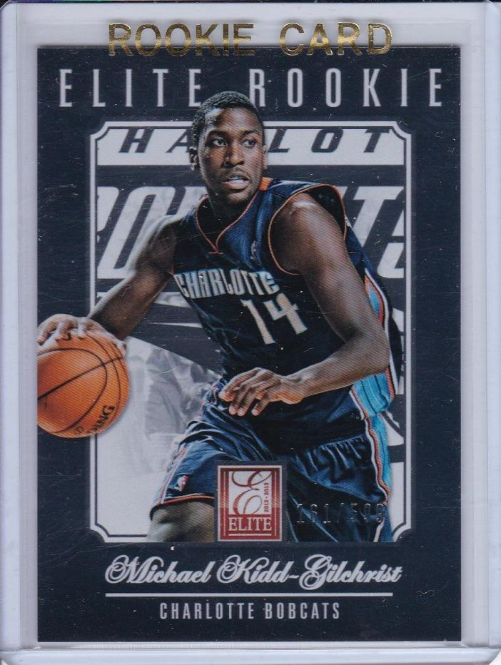 2012-13 PANINI ELITE MICHAEL KIDD-GILCHRIST ROOKIE RC #253 KENTUCKY 242/599 MKG