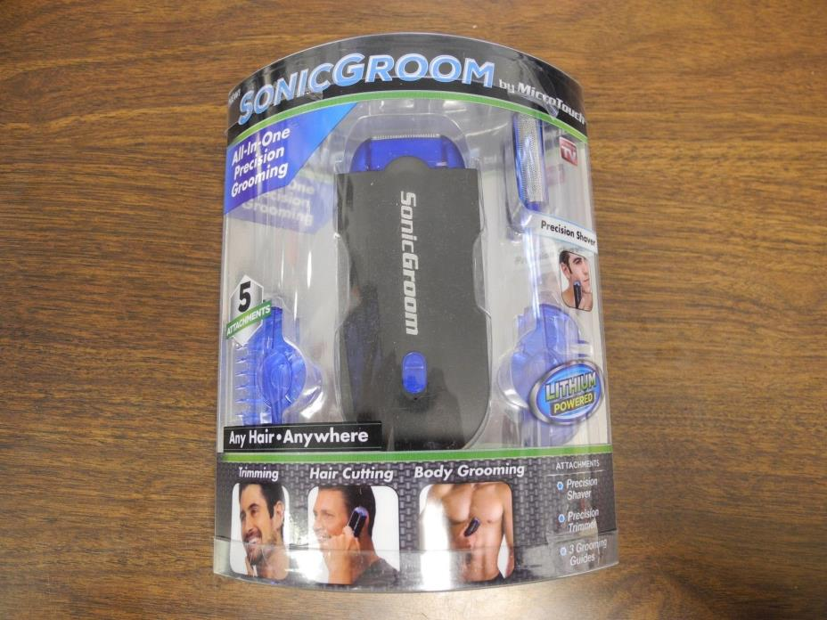SONICGROOM PRECISION TRIMMER # NEW
