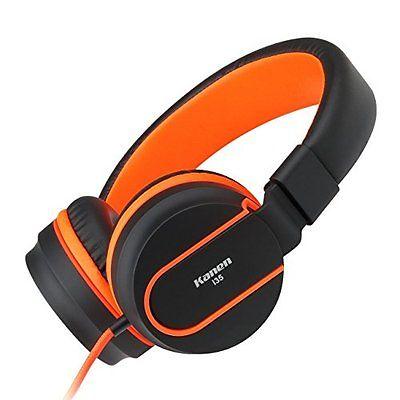 Lightweight Foldable Headsets Headphones Earphones Smartphones Laptop Music Song