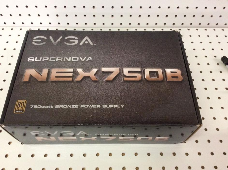 EVGA SUPERNOVA NEX750B POWER SUPPLY