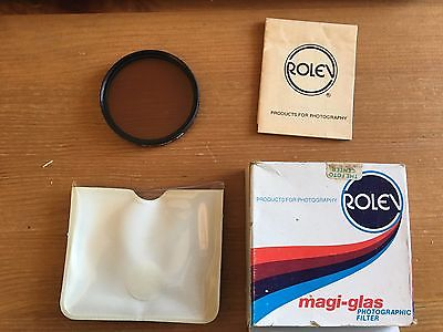 Rolev Magi-Glass 55mm 85B Glass Filter