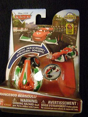 New - Disney Cars Hatch'n Heroes Francesco Bernoulli - 2015 Bandai
