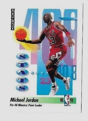 Michael Jordan   1991-92 SkyBox #307