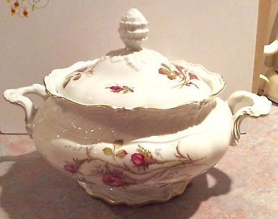 Royal Heidelberg Rose Briar (White) Tureen & Lid