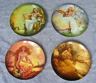 The Four Ancient Elements Complete Plate Collection Georgia Lambert