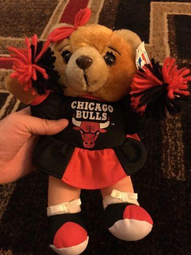 NBA Chicago Bulls Cheerleader Bear Plush Stuffed Toy 10