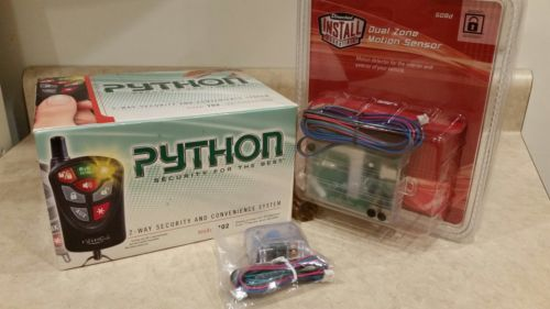 PYTHON 702, Directed DEI 2Way Alarm Security System VERY RARE, NEW CONDITION!!