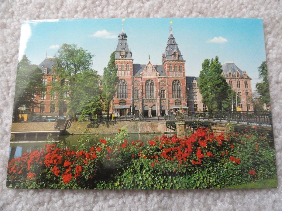 Amsterdam / Holland    Postcard