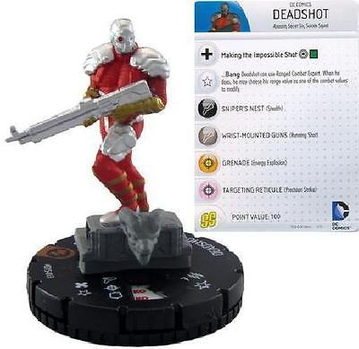 Deadshot #D15-013 WizKids Promo NM Heroclix Convention Exclusive Figures