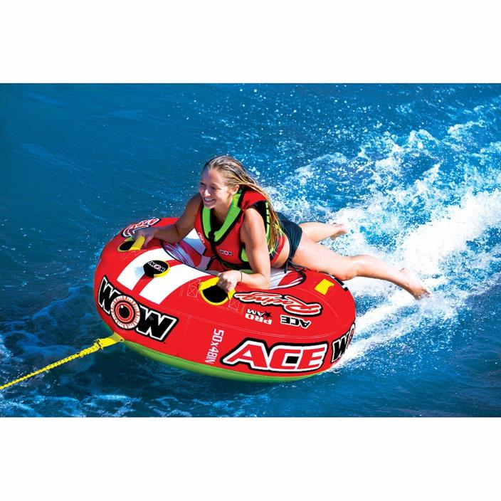 Towable Water Tube Watersports Single Summer Boat Ski Lake Sea Comfortable Kids