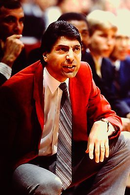 Jimmy Valvano Vintage Basketball 8 x 10 North Carolina State Hall of Famer