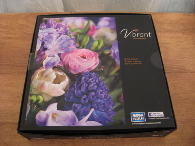 "VIBRANT 500 PC PUZZLE ""SPRING BOUQUET"""