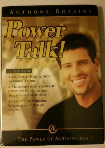ANTHONY ROBBINS POWER TALK: POWER OF ANTICIPATION CD....NEW