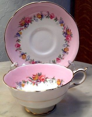 Paragon By Appointment Tea Cup & Saucer Vintage