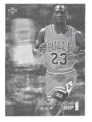 Micheal Jordan  1991 Upper Deck MVP Hologram #AW4