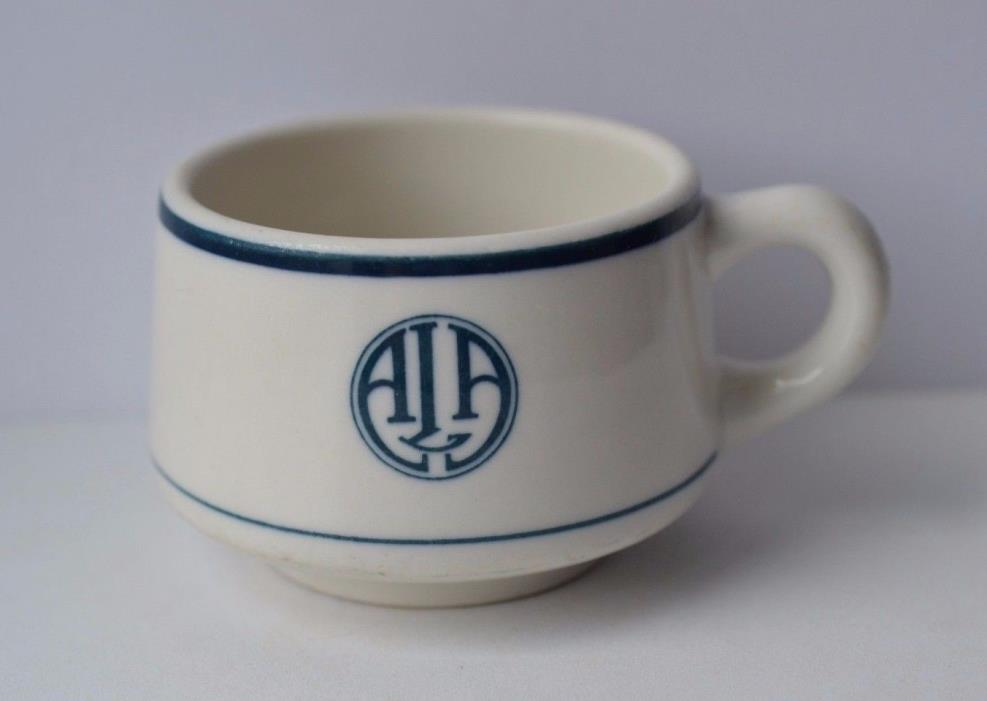 SYRACUSE CHINA RESTAURANT WARE ~ AIA American Institute of Architects Cup