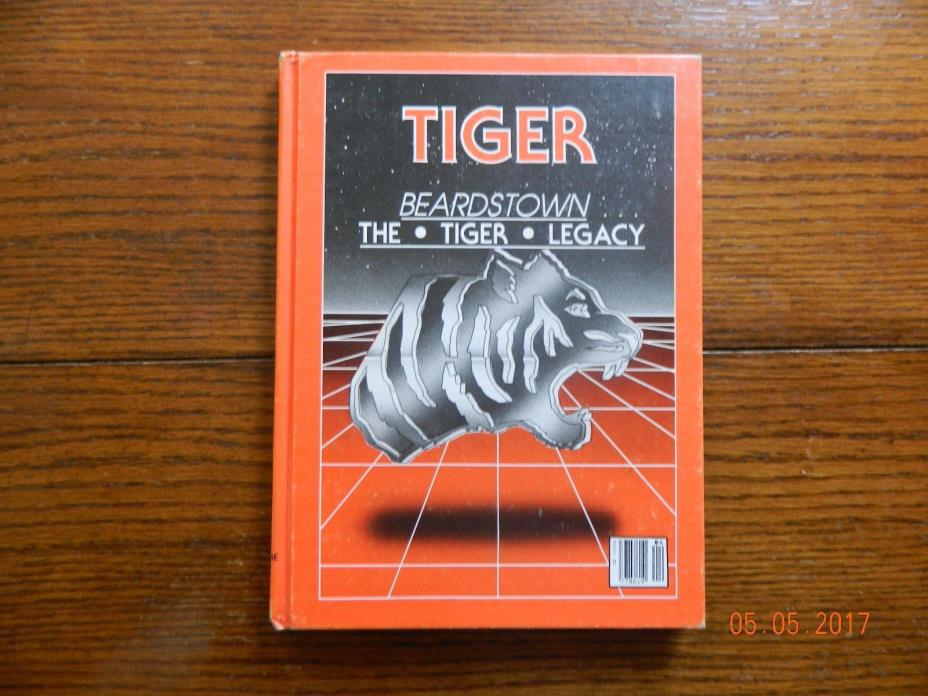 1984 BEARDSTOWN,IL HIGH SCHOOL YEARBOOK TIGER