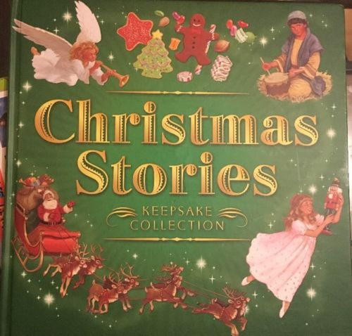 CHRISTMAS STORIES KEEPSAKE COLLECTION TOM NEWSOM NUTCRACKER 12 DAYS OF XMAS BOOK