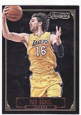 Pau Gasol  Lakers  201-13 Timeless Treasures