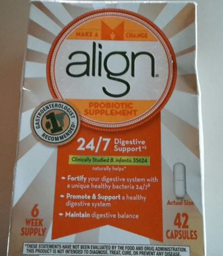 Align probiotic supplement 42 ct