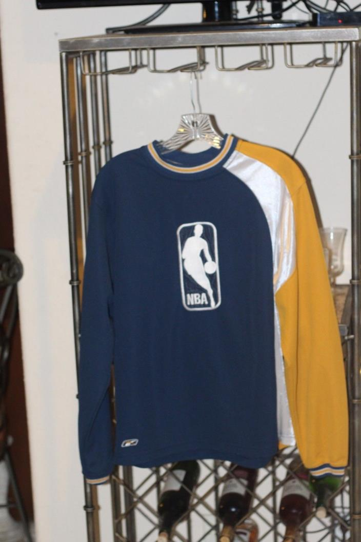 NBA logo Men's Long Sleeve - Navy