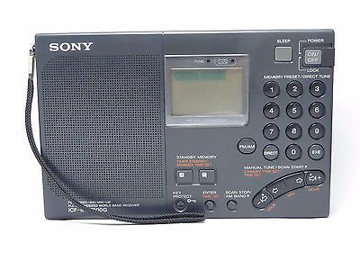 SONY ICF-SW7600G FM stereo/MW/LW/SW SSB, PLL, +papers, case, working perfect!