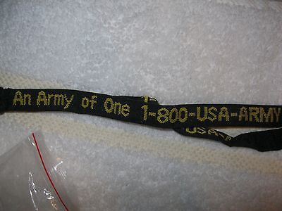 Army lanyard key chain