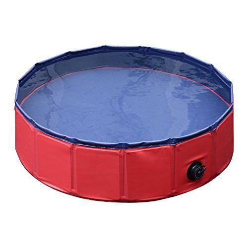 Pet Swimming Pool Dog Tub Foldable Pvc Bathtub Portable Outdoor Pet Cooling Play