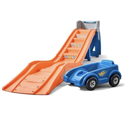 Step2 Hot Wheels Extreme Thrill Roller Coaster Ride On Summer fun Gets  5 STARS