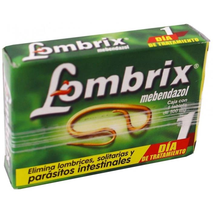 Lombrix para Lombrices Pinworm Treatment 1 day 1 dia Parasites Parasitos