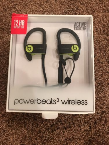Beats By Dre Powerbeats3 Wireless Shock Yellow