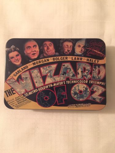 WIZARD OF OZ PLAYING CARDS 2004 NEW IN TIN XONEX MOVIE ARCHIVES 2 DECKS