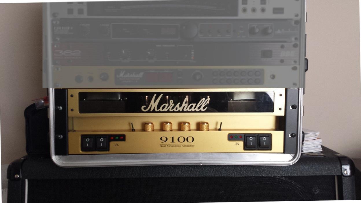 Marshall 9100 Dual 50 Watt Power Amp - Sovtek 5881 Tubes