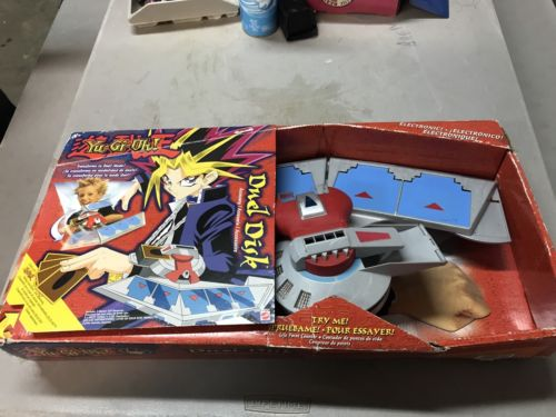 Yu-Gi-Oh! Battle City Duel Disk Toy With Box