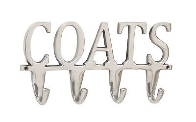 Aluminum Coats Wall Hook