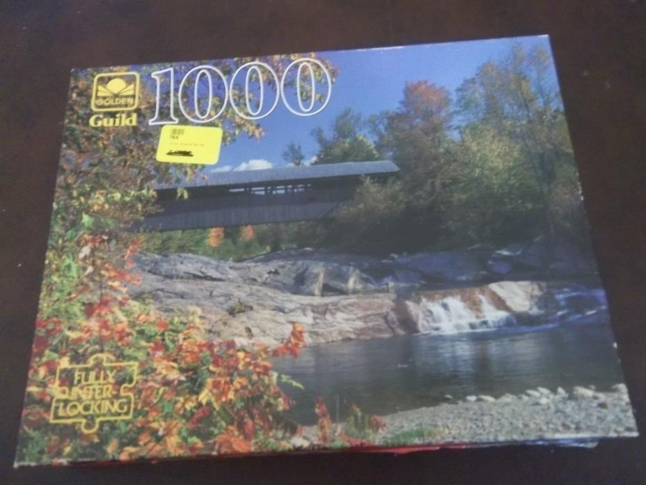 Guild  1000 pieces: Swiftwater, NH.  COMPLETE..