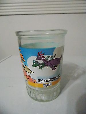 Dragon Tails Welch's Flying with Dragons Glass #1
