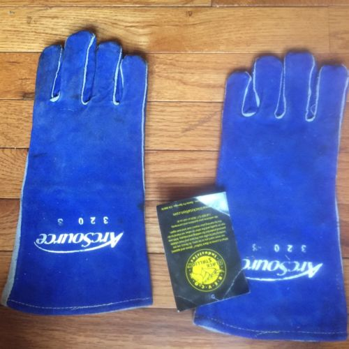 Revco 320 Comfort-Lined Cowhide High-Quality Stick Welding Gloves Size S EUC