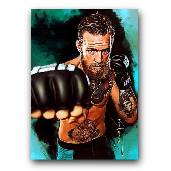 Conor McGregor #3 Sketch Card Limited 5/25 Edward Vela Signed