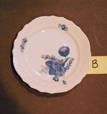 Royal Copenhagen BLUE FLOWER PLATE Curved & Braided  (B)   - NEW