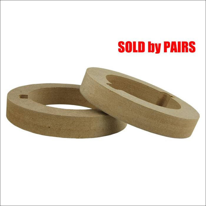 Tweeter Mdf Rings RING-3720 (SOLD by PAIRS) f 4.33x f 2.91 INCH